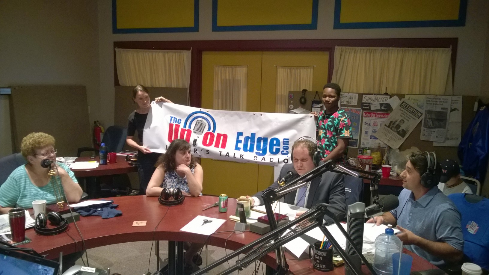 The Union Edge Talk Radio Interview of One World Blue.jpg